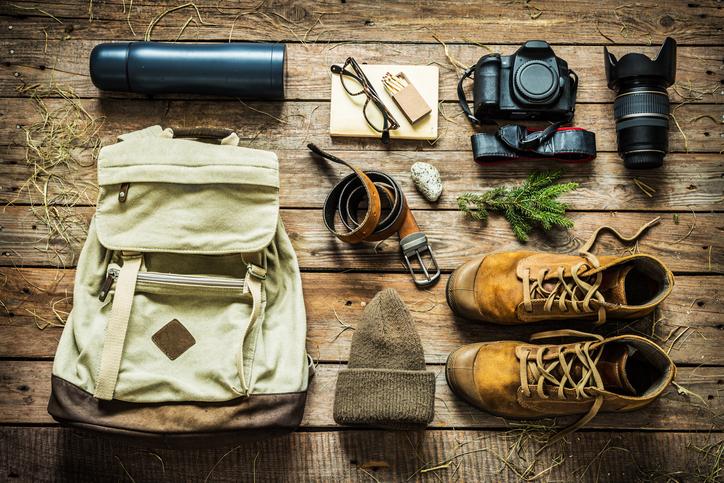 ハイキングに持っていく荷物